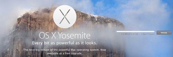 apple yosemite upgrade