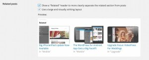 customise Related Posts section, Jetpack for WordPress