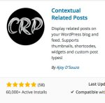 Contextual Related Posts plugin for WordPress