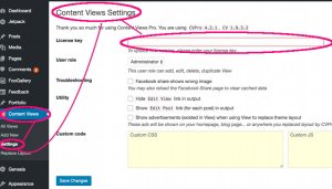 content views pro license