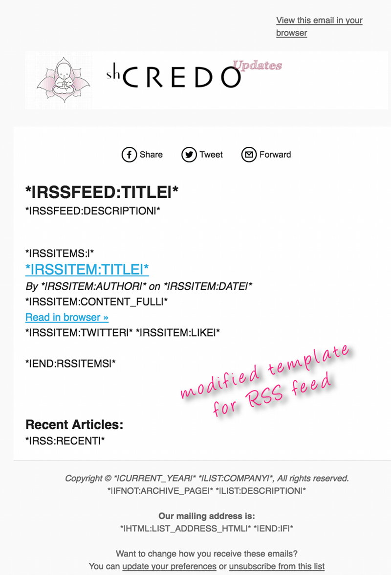 MailChimp Template Layout for Newsletter ・NetWebbing.com