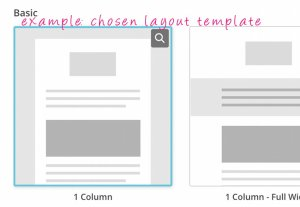 mailchimp template layout