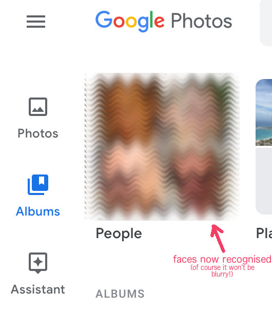 Google Photos - Face Recognition, Face Grouping ・NetWebbing com