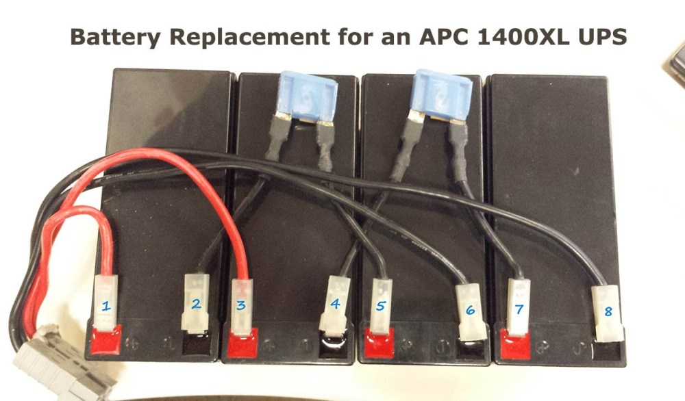 medium resolution of how to replace batteries on an apc 1400xl rack mount ups with wiring diagram