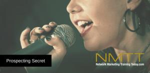 Network Marketing Prospecting Secret Gold