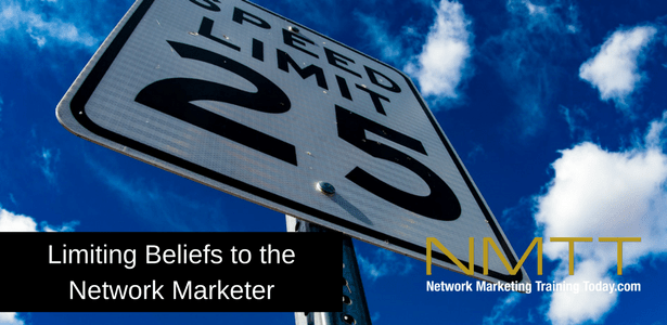 Limiting Beliefs to the Network Marketer