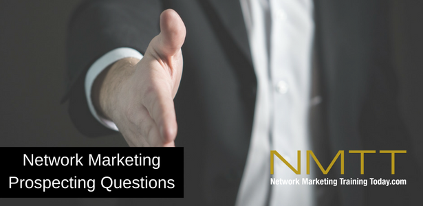 The Number 1 Network Marketing Prospecting Questions to Use to Prospect Your Waiter