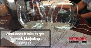 network marketing success