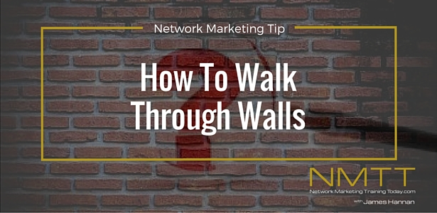 Network Marketing Training Tip No. 1