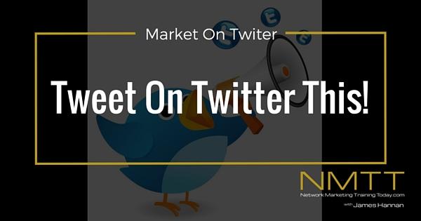 Tweet on Twitter