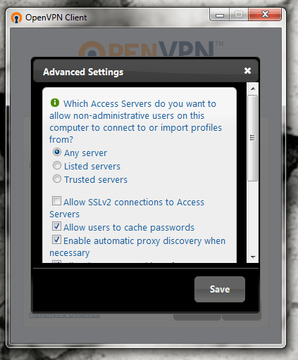 Client OpenVPN-2