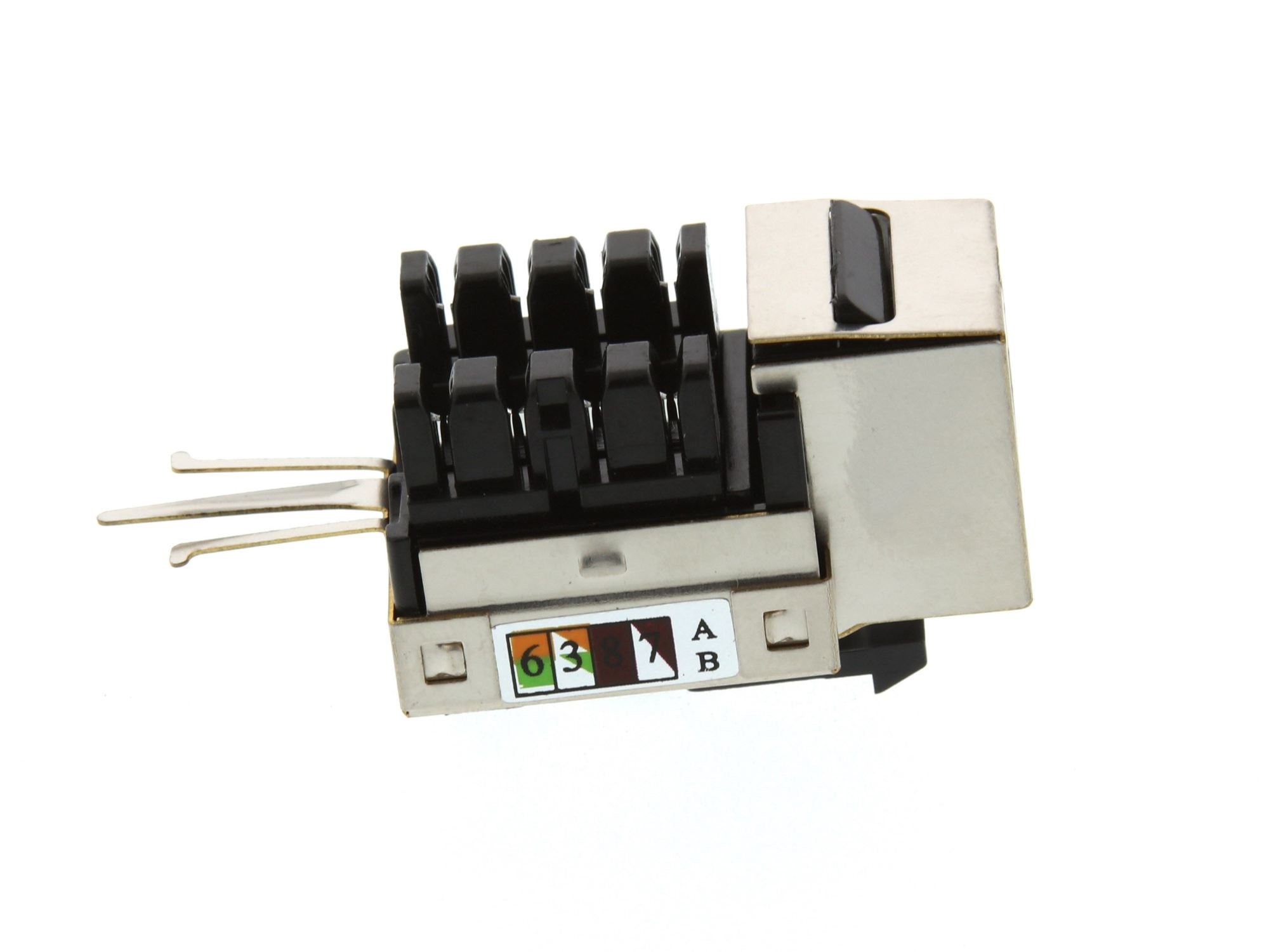 hight resolution of  picture of cat5e shielded keystone jack