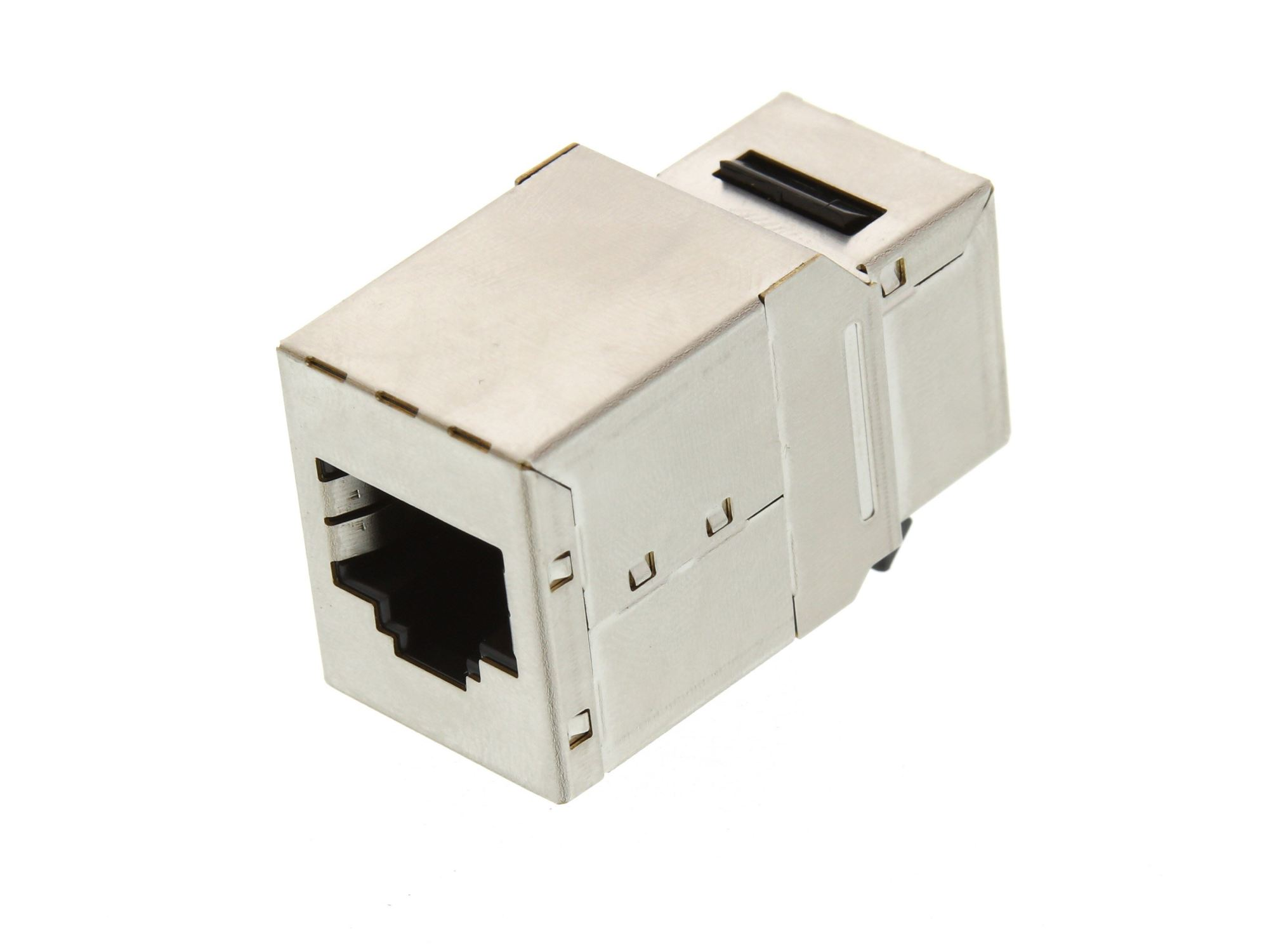 hight resolution of  picture of networx rj45 cat5e keystone jack pass through panel mount shielded