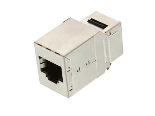 small resolution of  picture of networx rj45 cat5e keystone jack pass through panel mount shielded