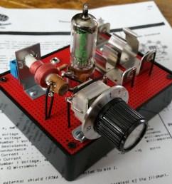 one tube am radio am radio schematic diagram tube [ 1024 x 894 Pixel ]