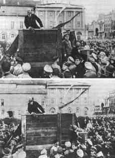Lenin mit und ohne Trotzki