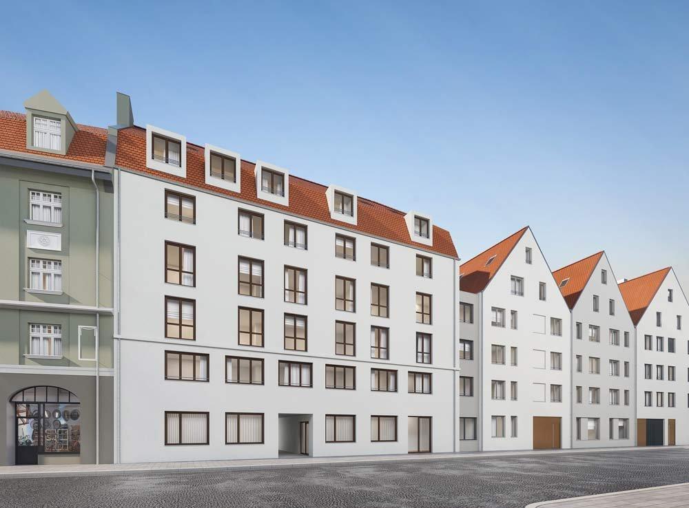 Mozart Augsburg  AugsburgInnenstadt  KLAUS Wohnbau  NeubauImmobilien Informationen
