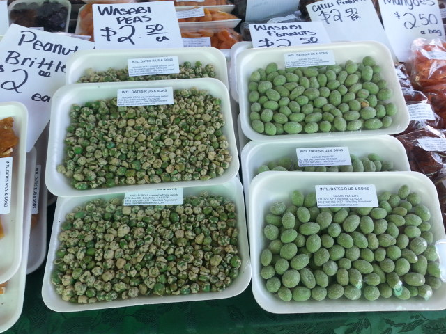 Wasabi Peas and Peanuts