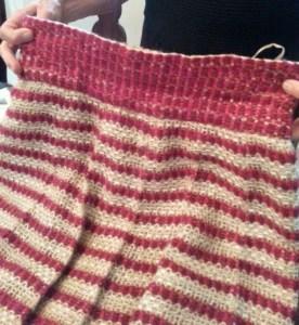 Chanel Skirt. Pleated waistband