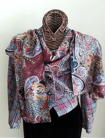 V2056 with coordinating scarf
