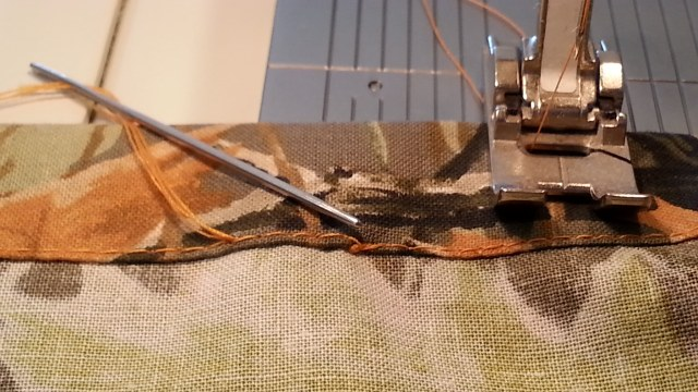 continuous stitching repair