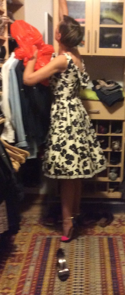 The Dress. Auditioning Shoes