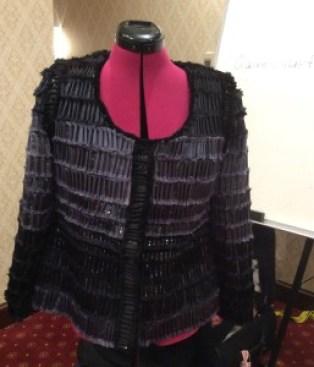 Chanel Jacket. Hand made fabric