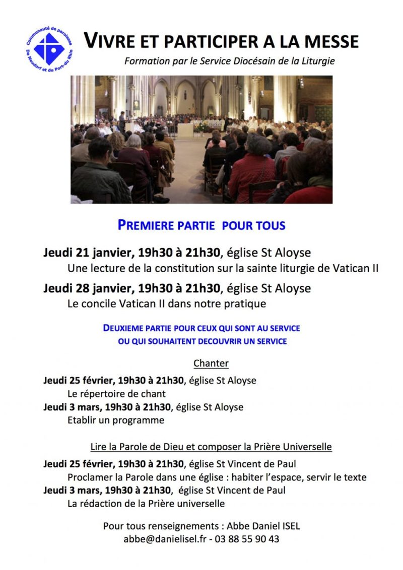 Formation liturgique - tract A6