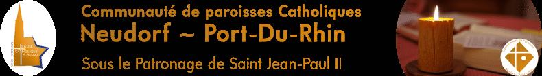 Communauté de paroisses catholiques Neudorf-Port-du-Rhin