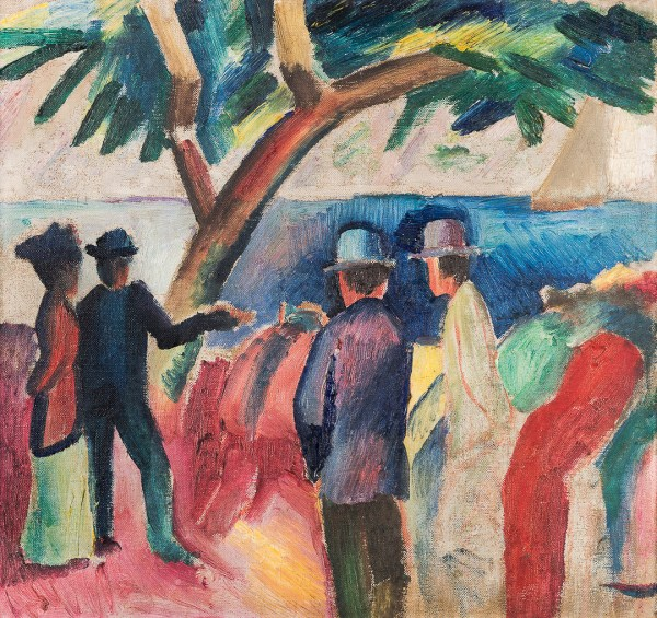 Franz Marc And August Macke 1909 1914 Neue Galerie Ny