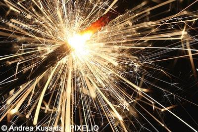 Wunderkerze zu Silvester 2012/2013