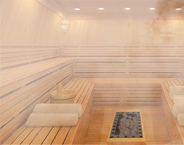 eigene Sauna bauen