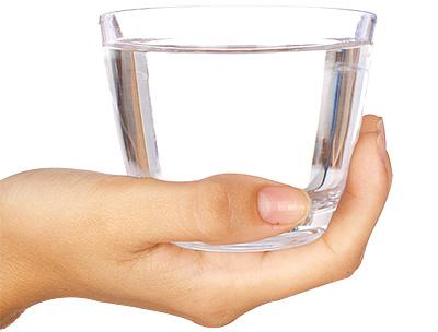 Mit Wasser abnehmen