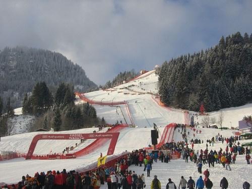 Wintersportparadies Kassel. Hier ein Bild von den alpinen Bezirksmeisterschaften 2013.