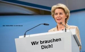 Freut sich jetzt schon auf den Truppen-Nachwuchs: Ursula von der Leyen