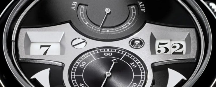 A-Lange Zeitwerk Striking Time-Detail