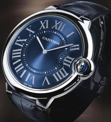 """Ballon Bleu de Cartier extra flat: Die """"Flat"""" für das Handgelenk des Gentleman"""