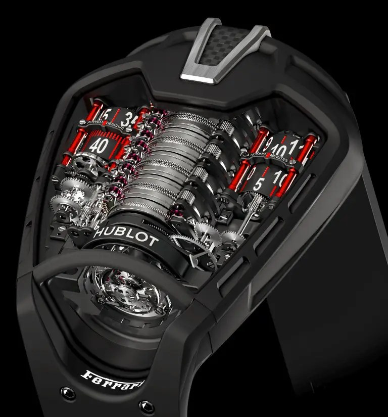 hublot masterpiece mp 05 laferrari concept watch. Black Bedroom Furniture Sets. Home Design Ideas