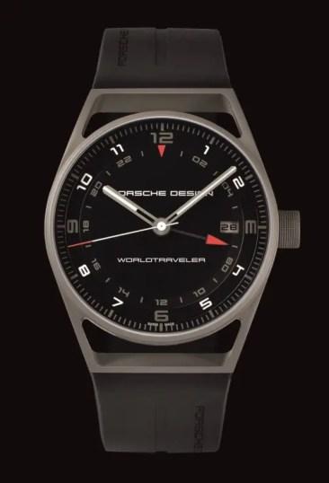 Porsche Design P'6752 WorldTraveler mit neuem Manufaktur-Uhrwerk