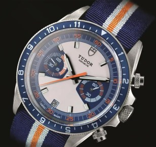 Tudor Montecarlo 70330B_blue_fabric_strap_blue_det6