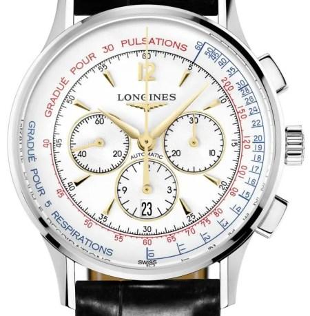 LonginesAsthmometer-PulsometerChronograph_L2.787.4.16.2 Zifferblatt lres