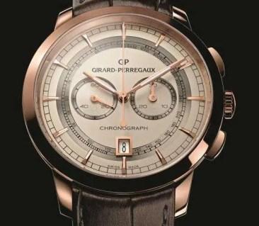 Girard Perregaux 1966 integrierter Säulenrad-Chronograph