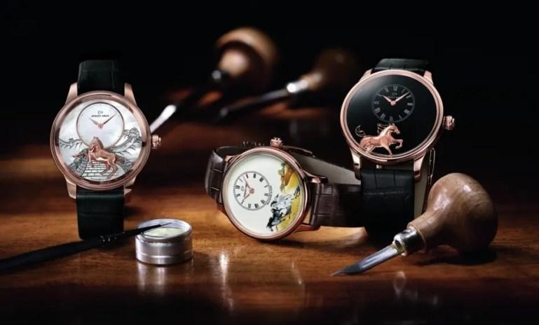 Jaquet Droz mit drei neuen Modellen zum chinesischen Jahr des Pferdes
