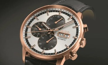 Mido Commander Gent Leather & Chronograph