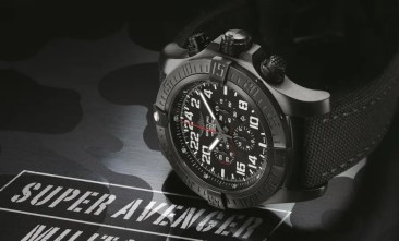 Limitierte Serie: Breitling Super Avenger Military