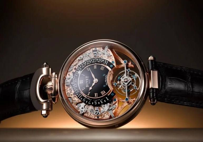 Bovet Amadeo® Fleurier Tourbillon Virtuoso III 5-Tage Tourbillon