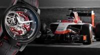 Armin Strom in 4.Saison Sponsor des Marussia F1 Teams