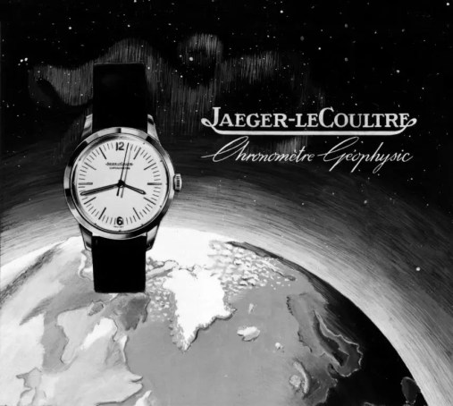 Historical Poster on Geophysic_Jaeger-LeCoultre
