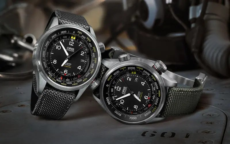 oris big crown propilot altimeter collection