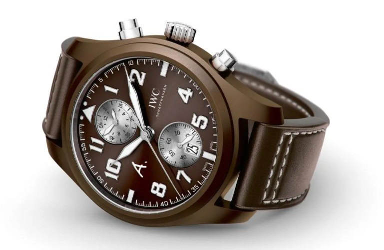 "Limitierte IWC Fliegeruhr Chronograph Edition ""The last Flight"""
